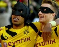 'Batman and Robin' help Dortmund to derby win