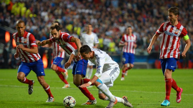 It's Madrid derby in Champions League last eight