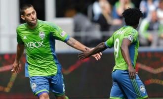 Dempsey salutes 'best-ever partner' Martins