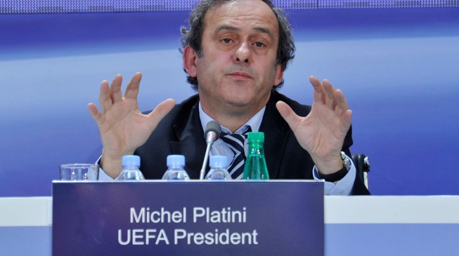 Re-elected Platini fears rise of hooliganism