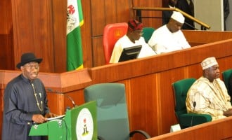Jonathan takes national assembly to court