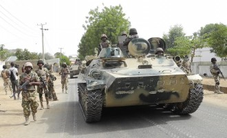 Army promotes 5,000 soldiers fighting B'Haram in the n'east