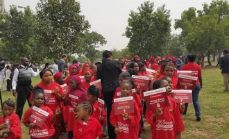 219 girls march in Abuja for 219 Chibok girls