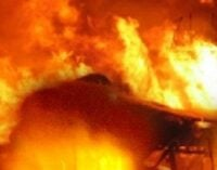 Shops destroyed as fire guts Maiduguri GSM market