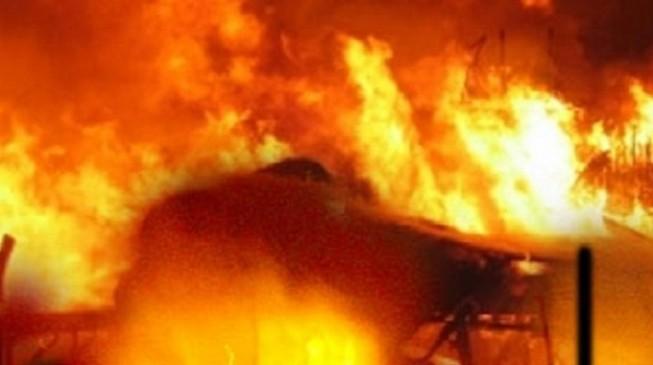 Shops destroyed as fire guts Maiduguri GSM market