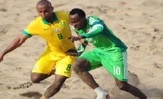 Senegal deny Sand Eagles World Cup ticket