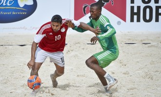 Sand Eagles top group after narrow win over Cote d'Ivoire