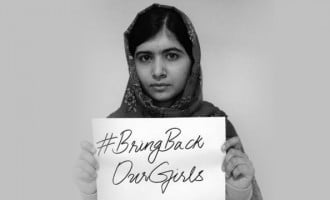 Malala to Chibok girls: We will never forget you
