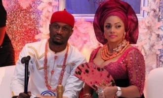 Lola Omotayo's hubby, Peter Okoye, is 'still searching'