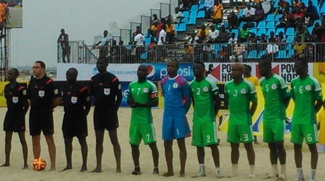 Sand Eagles whitewash Seychelles in opening match