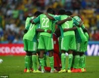 Nigeria still 53 in FIFA ranking