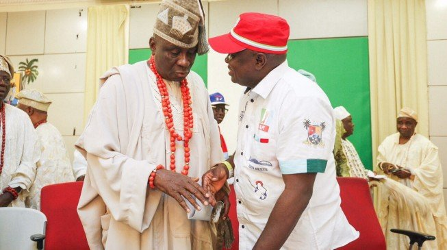 Akiolu to Igbo: You die if you don't vote Ambode