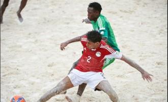 Sand Eagles bury Egypt with goals