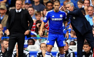 Mourinho, Hazard win BPL awards