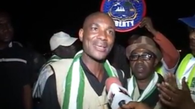 VIDEO: Nigerian Ebola volunteers return from Liberia