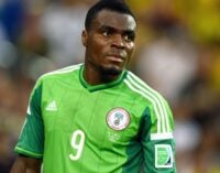 Keshi consoles Emenike over father's death