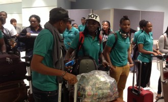 Super Falcons land in Toronto