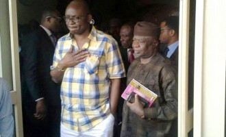 Fayose meets pro-impeachment APC lawmakers in Akure