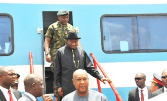 GEJ wants Buhari to continue his rail projects