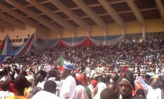 Angry youths disrupt el-Rufai's inauguration