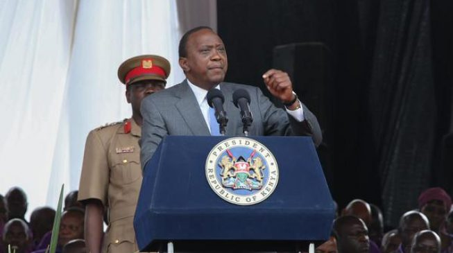 Kenyatta says brother won't be spared prosecution in anti-graft war