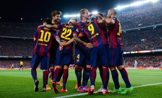 Messi leads Barca to Copa del Rey win