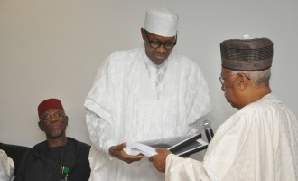 Buhari receives Joda-led transition committee's report