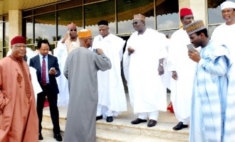 Buhari absent at meeting with APC lawmakers