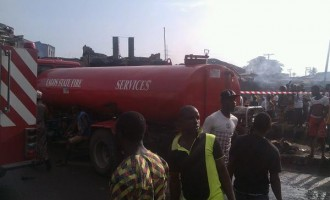 30 houses razed in another tanker explosion