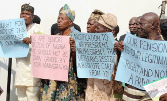 Osun pensioners protest 8 months unpaid benefits
