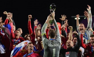 Victorious Serbia 'deserved their luck against Brazil'