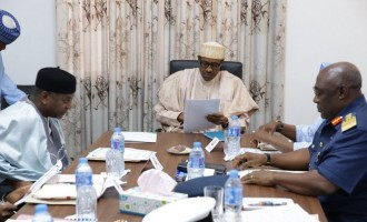 Buhari holds another meeting with service chiefs