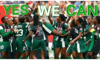 Super Falcons say 'Yes We Can'