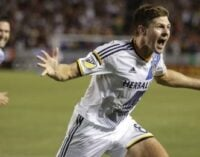 Gerrard scores on MLS debut