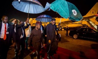 Buhari arrives Nigeria after four-day US trip