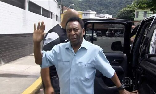 Pele out of hospital after back surgery