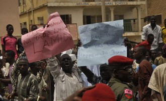 Sule Lamido's supporters storm Kano airport