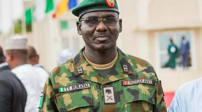 Buhari names Buratai new chief of army staff