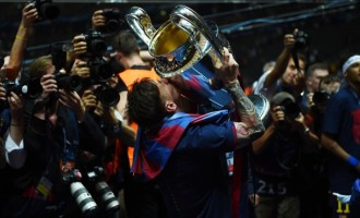Messi named UEFA Best Player in Europe