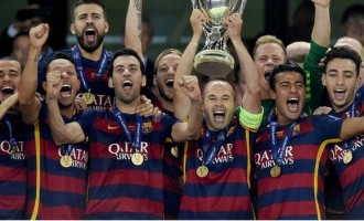 Barcelona pip Sevilla to Super Cup