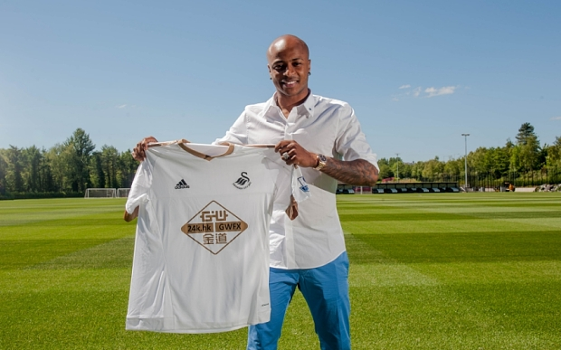 Swansea City Unveil New Signing Andre Ayew