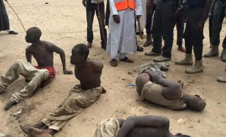 Villagers expose 'Boko Haram insurgents' in Borno