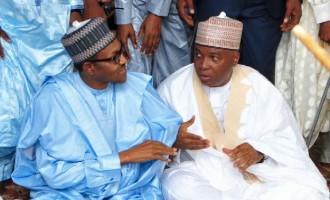 Saraki has made tremendous impact on this country, says Buhari