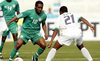 You won't get rich playing for Nigeria, says Okocha