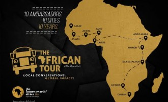 Future Awards Africa goes to 10 cities