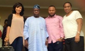 Tonto Dikeh engaged to 'Obasanjo's son', Churchill