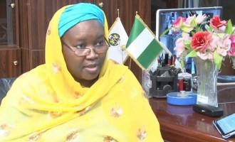 Amina Zakari breaks silence, says she's neither Buhari's niece nor cousin