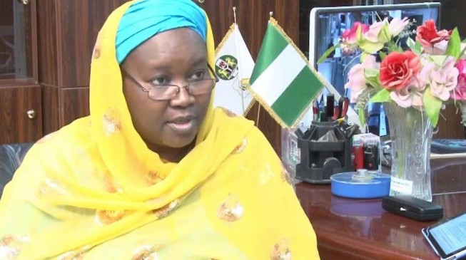 Amina Zakari breaks silence, says she's neither Buhari's niece nor cousin
