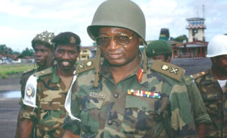 REWIND: Dogonyaro's coup speech that overthrew Buhari on August 27, 1985