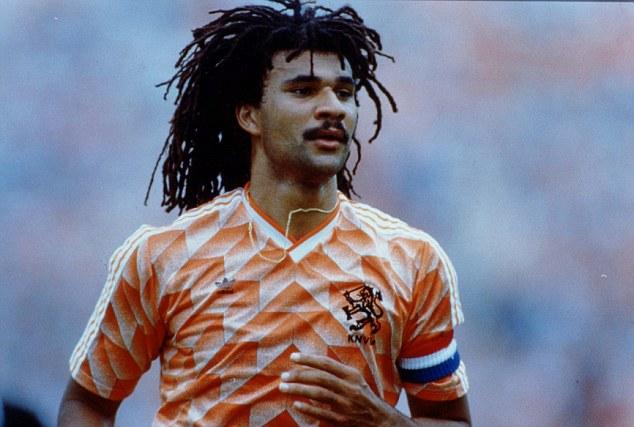 PKT5101-373220 FOOTBALLER - RUUD GULLIT 1990 Footballer Ruud Gullit - Holland